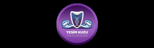 Sitenin en başındaki Yeşim Kuzu Theta Akademi'nin logosu.