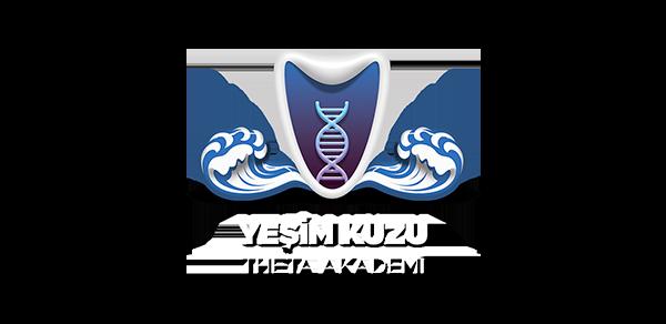 Yeşim Kuzu Theta Akademi'nin logosu.